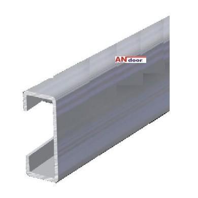 b rstendichtung aufnahmeprofil c form aluminium lieferl nge andoor torsysteme fachhandelsshop. Black Bedroom Furniture Sets. Home Design Ideas